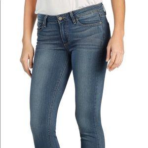 PAIGE verdugo ankle jeans medium wash